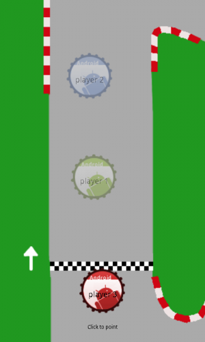 Bottle Top Race in-game screenshot