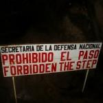 Forbidden the step - Prohibido el paso