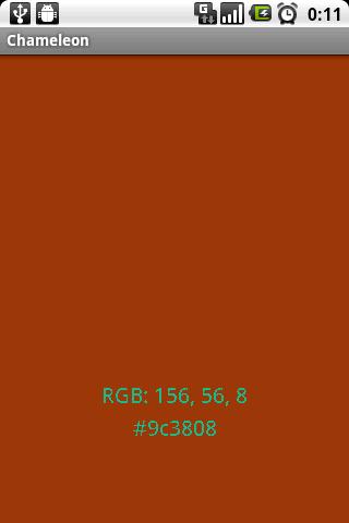 Chameleon Color Picker screenshot 2